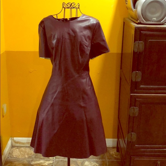 e51619dd New York & Company Dresses | Perfect Little Burgundy Dress | Poshmark
